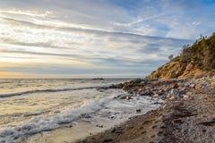 Ocean shore Stock Images