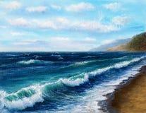 Ocean shore Stock Photography