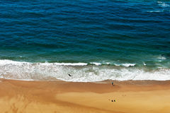 Ocean shore in Portugal Stock Photos