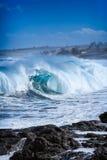 Ocean silny Obraz Royalty Free