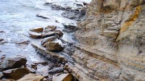 Ocean skał plaży wody zatoka San Juan Del Sura Nikaragua Obrazy Stock