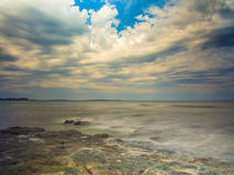 Ocean skały Obraz Royalty Free