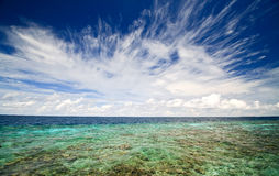 Ocean and sky Royalty Free Stock Photos