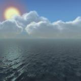 Ocean Sky Royalty Free Stock Photos