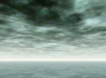 Ocean sky Stock Image