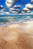 A ocean and sky Royalty Free Stock Photography