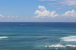 The ocean and a sky. With horizon, Hawaii Royalty Free Stock Image
