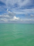 Ocean Skyline at South Beach, Miami. Royalty Free Stock Image