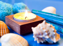 Ocean spa still life Royalty Free Stock Photography
