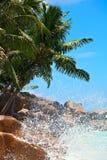 Ocean splash Stock Image