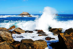 Ocean spray Royalty Free Stock Photography