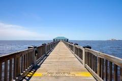 Ocean Springs strand royaltyfria foton