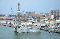 Ocean Star Offshore Drilling Rig Museum and Education Center Royalty Free Stock Images