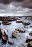 Ocean and stone Royalty Free Stock Photography