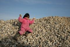 Ocean stones royalty free stock photography