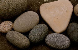 Ocean stones are soft Royalty Free Stock Photos