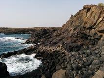 Ocean and stones. Tenerife Stock Photography