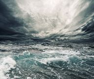 Ocean storm stock photography