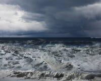 Ocean in storm Stock Photo