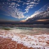 Ocean in storm Stock Images