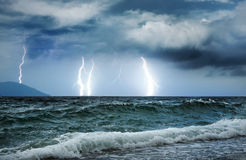 Ocean storm. Picture of an Ocean storm Stock Images