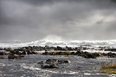Ocean storm Royalty Free Stock Photos