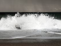 An Ocean During a Storm royalty free stock photography