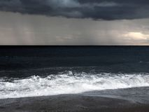 An Ocean During a Storm stock photo