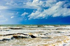Ocean before the storm, Sri Lanka Stock Photos