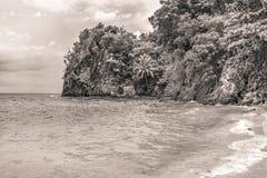 Ocean strona, Mindanao Filipiny Zdjęcia Royalty Free