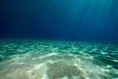 Ocean and sun Stock Image