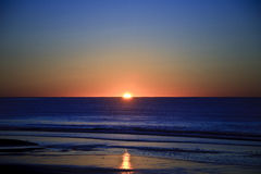 Ocean Sunrise. Sunrise on the coast of Maine Stock Photos