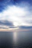 Ocean Sunrise. Sun Rising over Peaceful Ocean Royalty Free Stock Photo