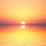 Ocean sunrise. Background. Florida, USA Stock Images