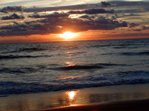 Ocean Sunrise 4 Stock Image