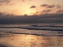 Ocean Sunrise 2. Sunrise on the Atlantic Ocean in Myrtle Beach, South Carolina Stock Images