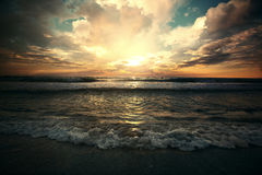 Ocean sunrise Royalty Free Stock Photos