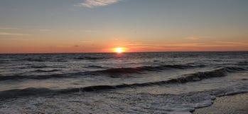 Ocean sunrise royalty free stock photos