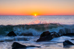 Ocean Sunrise Royalty Free Stock Photo