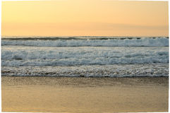 Ocean at sunset Royalty Free Stock Images