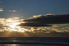 Ocean sunset. Royalty Free Stock Photo