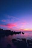 Ocean sunset Royalty Free Stock Image