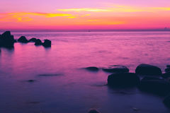 Ocean sunset. Eastphoto, tukuchina,  Ocean sunset, nature beauty Stock Photos