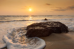 The ocean at sunset Stock Image