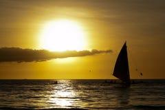 Ocean sunset landscape Royalty Free Stock Image