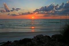 Ocean Sunset Royalty Free Stock Photos