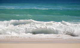 Ocean surf. In summer day Royalty Free Stock Images