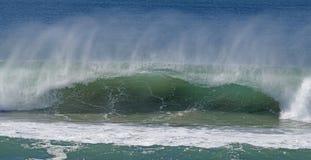 Ocean surf breaking. Along the Queensland coast, Australia stock photos
