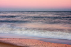Ocean Surf in Late Afternoon Royalty Free Stock Photography