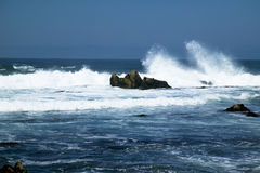 Ocean surf, Monterey California Stock Image